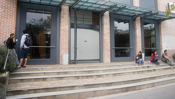 Ingreso al segundo hall
