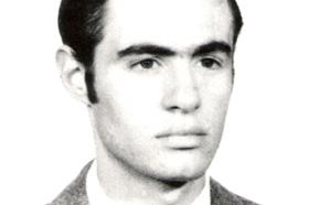 Estudiante de Antropología. Desaparecido el 09/02/1977 a los 25 años. Militante de la Juventud Universitaria Peronista (JUP).