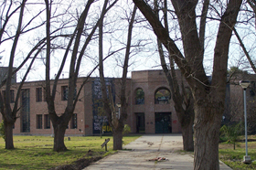 Vista del Edificio de aulas