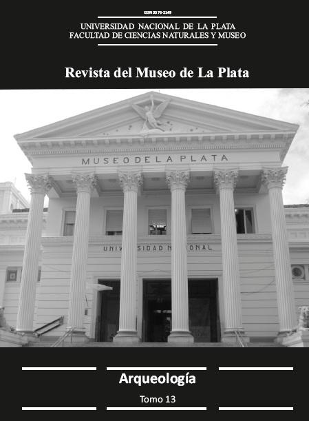 Portada de la versión impresa del Tomo 13 Sección Antropología de la Revista del Museo de La Plata.