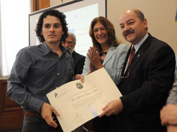 Premio 2011 Investigador Joven - FCNyM - Abba, Agustín Manuel