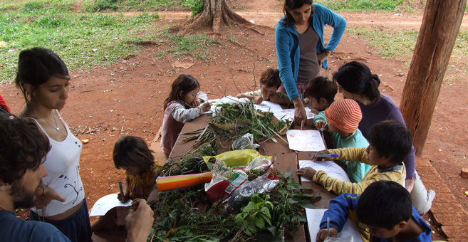 Comunidad Mbya-Guarani de la Provincia de Misiones. Mayo de 2008